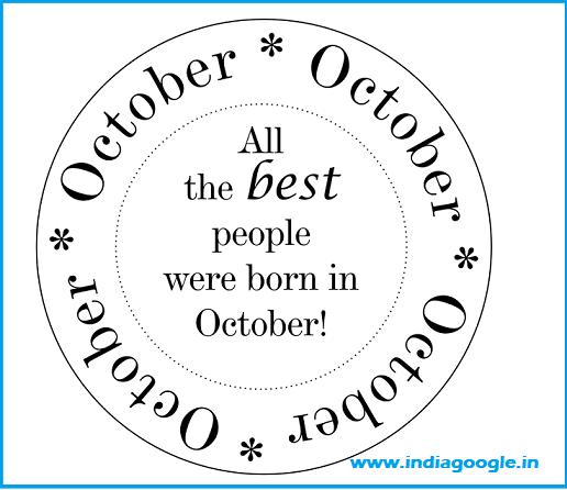 horoscope for october born